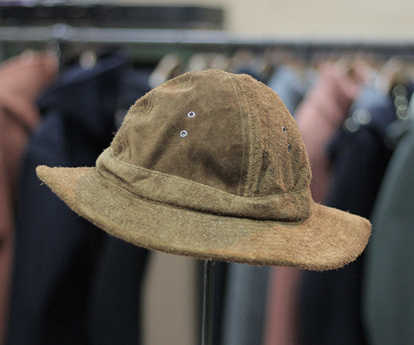 8e1bcccc025f20 orSlow U.S.NAVY HAT ~BROWN Suede~ | andPheb Staff Blog