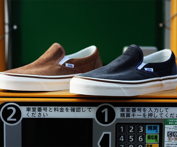 "652cf26c38d VANS バンズ 限定モデル ANAHEIM FACTORY COLLECTION ""OG HART BROWN CORDUROY"" スリッポン  (VN0A3JEXUM4-BRW-18AW)"