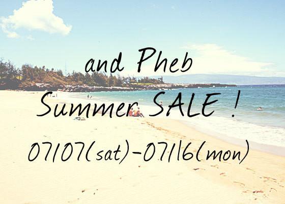 「アンドフェブ/and pheb」ブログ by pheb international